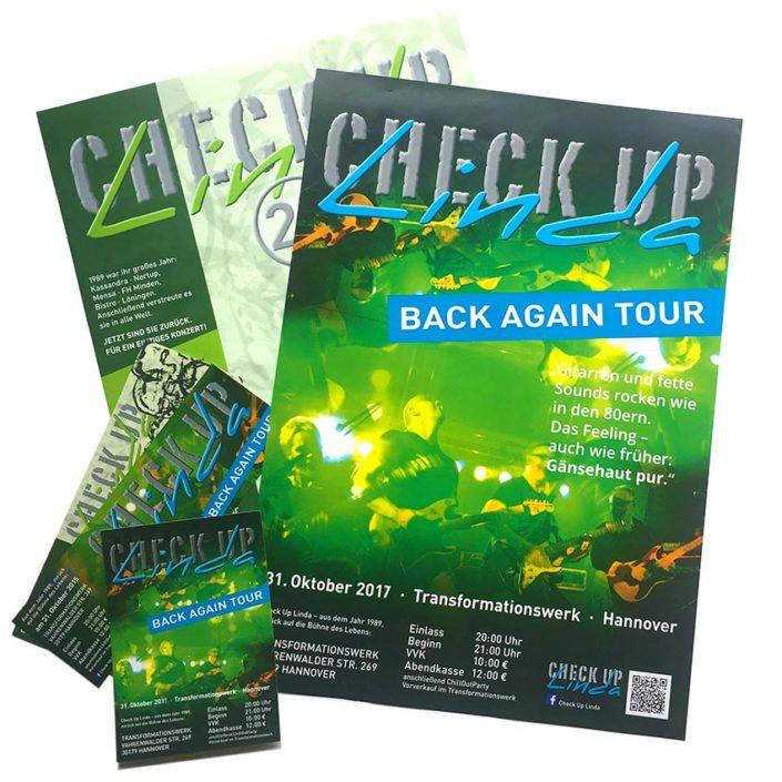 Printmedien: Plakate, Karten, Flyer