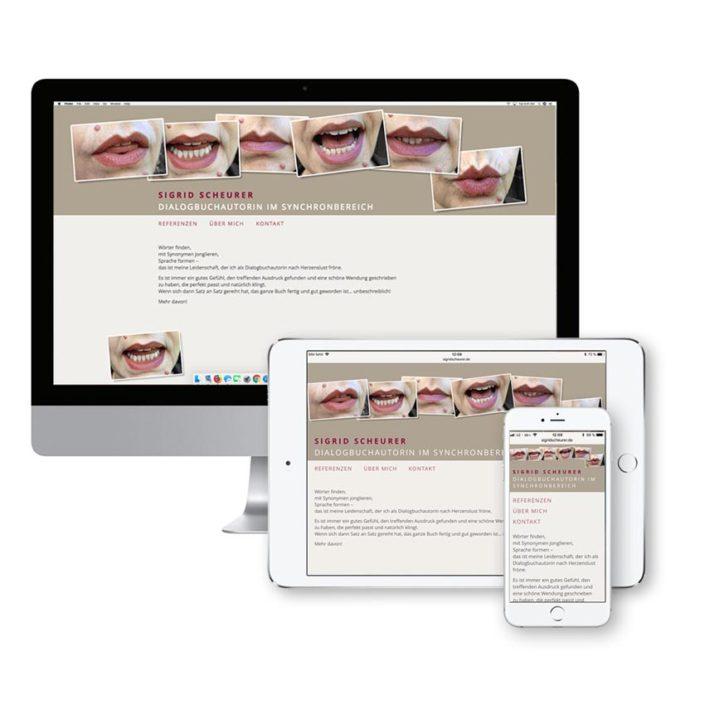 Responsive Webdesign für alle digitale Anwendungen